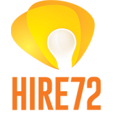 Hire 72 - Dark Orange Logo Montreal Web Designer